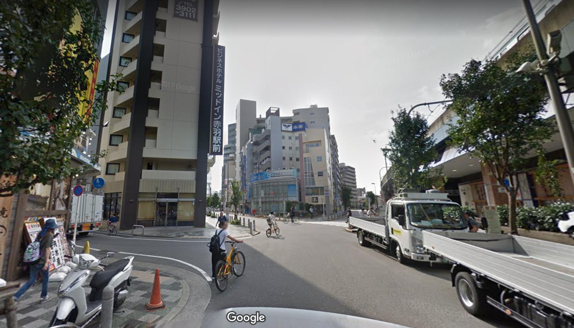 ホテルミッドイン赤羽駅前