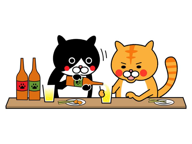 コンスタンとお酒